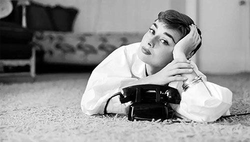 Una cena de cine con Audrey Hepburn